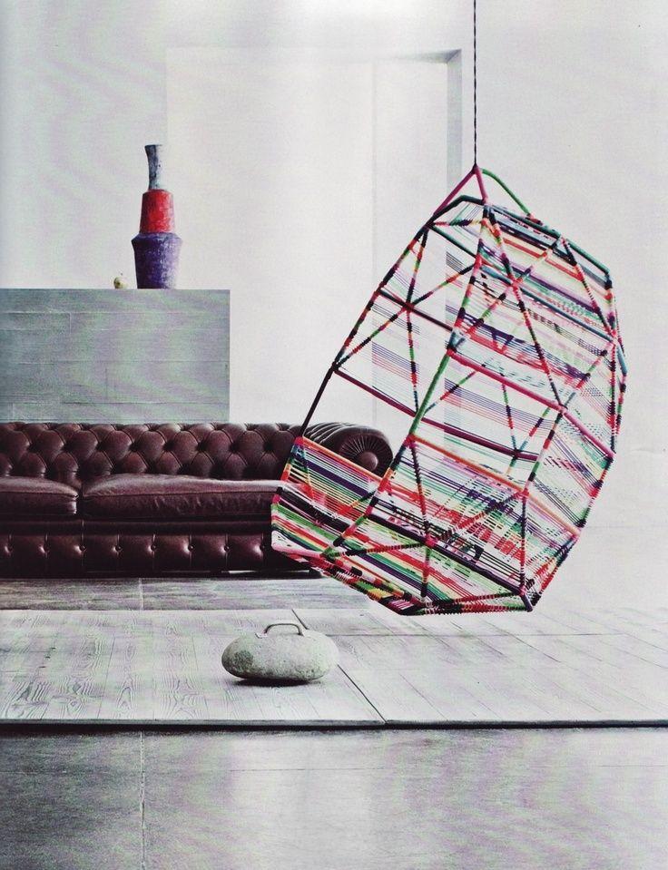 Mooie Egg Chair.Mooie Hangstoel Van Moroso Lekker Luchtig Design Voor In