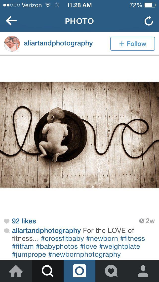 Crossfit newborn photo | Babyfotos | Newborn baby photos ...