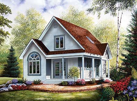 Plan 21093dr Country Charm With Wrap Around Porch In 2021 Country Style House Plans Small Cottage House Plans Narrow Lot House Plans