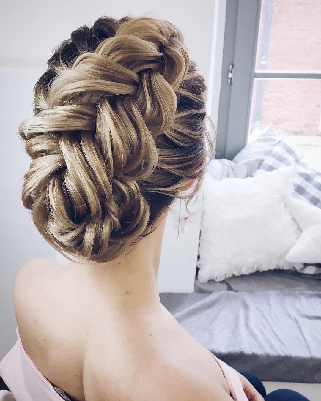 Textured wedding updo hairstyle ,messy updo wedding