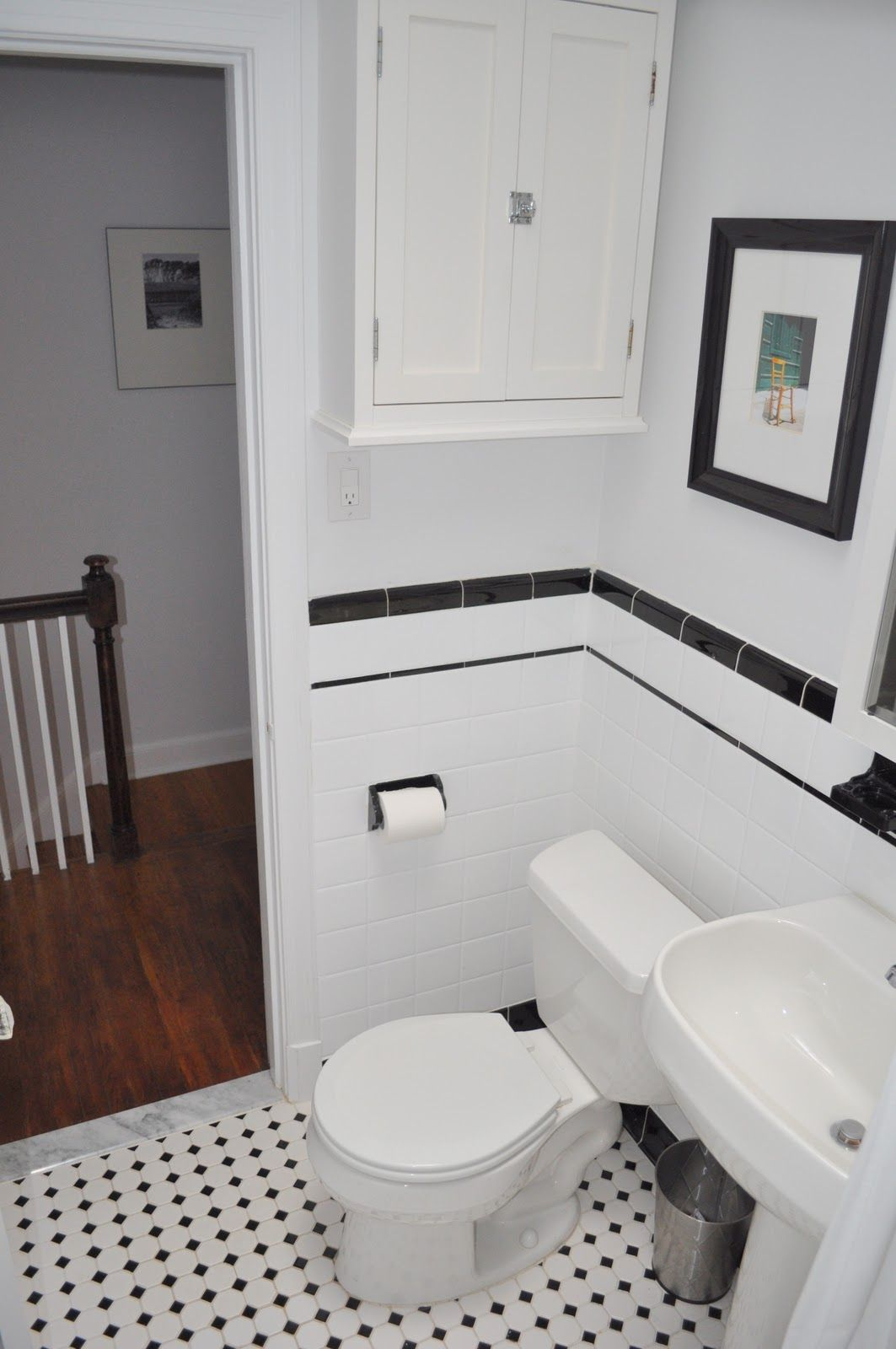 Bathroom Tiles Black And White subway tile bathroom ideas. zamp.co