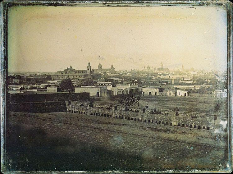 Buenos Aires vista desde El Retiro. 1852.