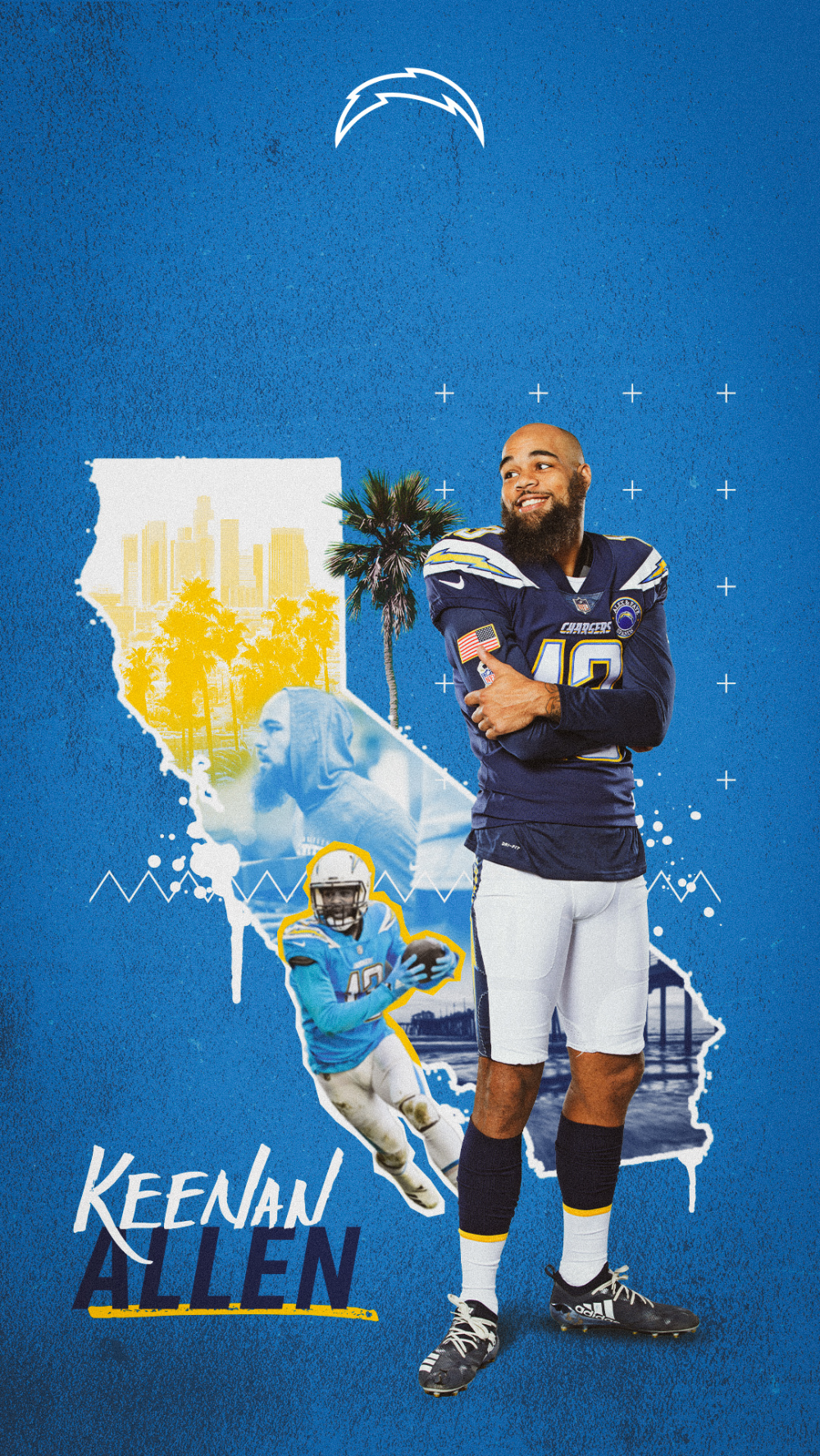 Chargers Wallpapers Los Angeles Chargers Chargers Com Sports Graphic Design Sports Design Inspiration College Sports Graphics