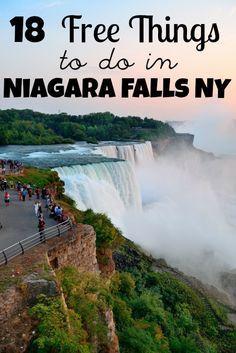 20 Fun And Free Things To Do In Niagara Falls New York Niagara Falls Vacation Niagara Falls Trip Niagara Falls New York
