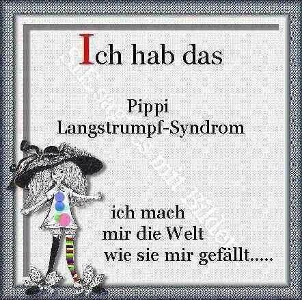 Pippi langstrumpf syndrom