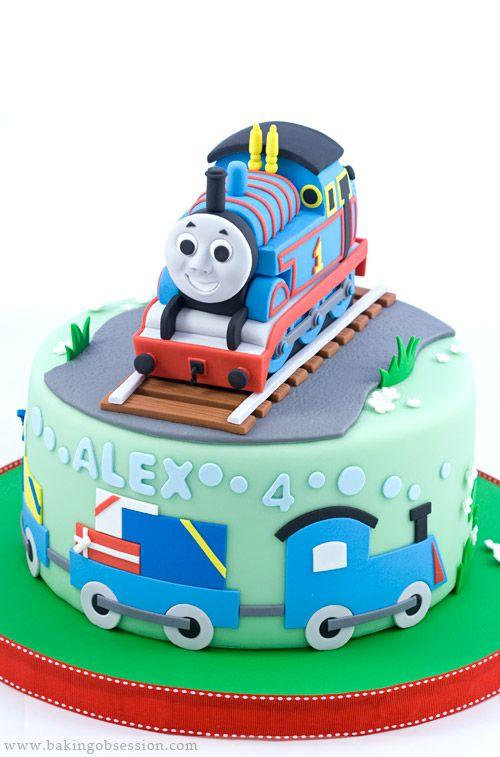 Thomas The Tank Engine Cake Thomas Cakes Pinterest Play Dough