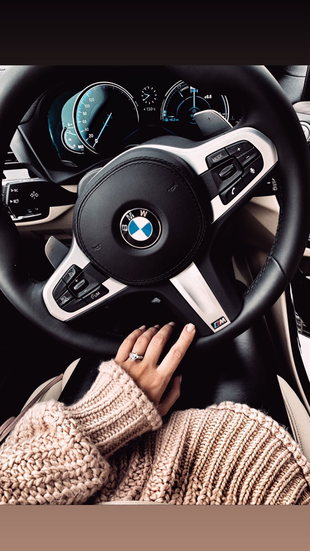 Bmw girl knitted pullover #topluxurycars Bmw girl knitted pullover