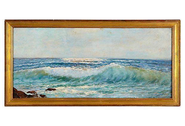 F. Bernard, Ocean Wave on OneKingsLane.com