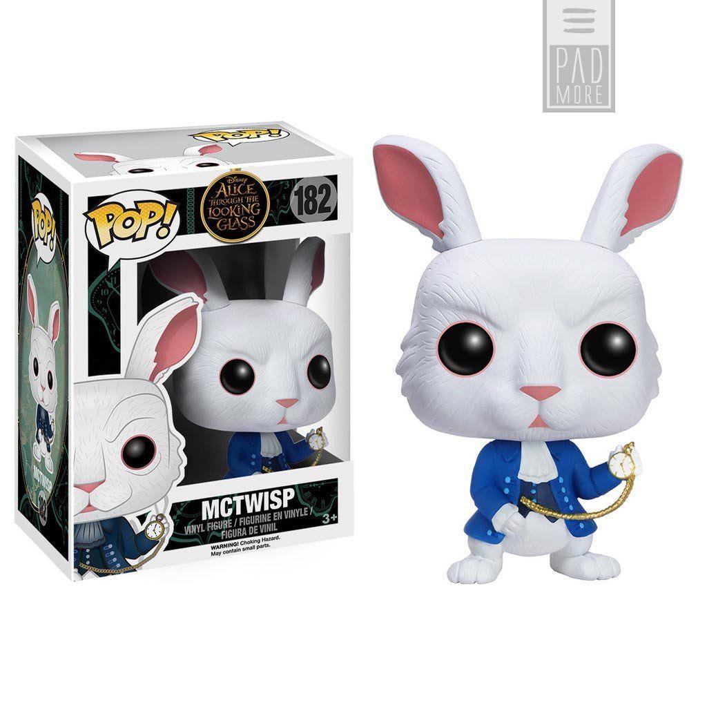 lapin blanc Disney Alice in Wonderland Character Figure..