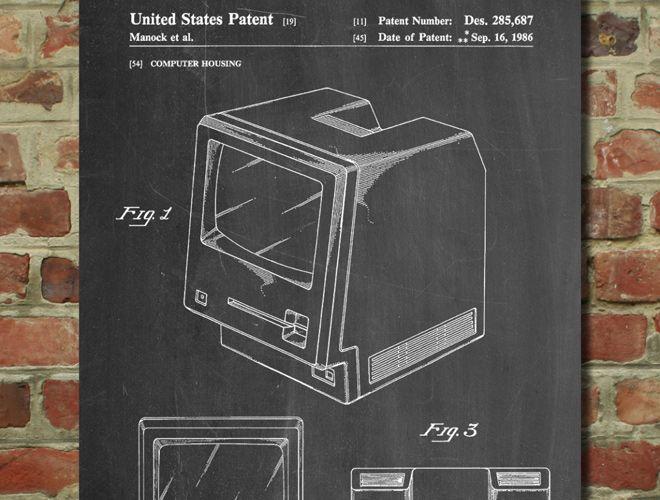 First Apple Macintosh Computer Patent - www.eklectica.in #eklectica