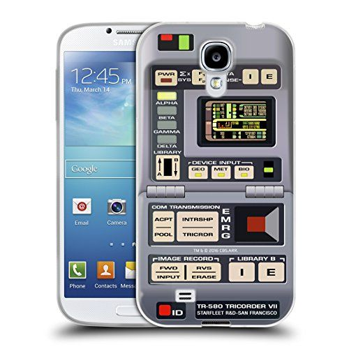 Official Star Trek Tricorder Gadgets TNG Soft Gel Case for Samsung Galaxy S4 I9500 -- Check out this great product.