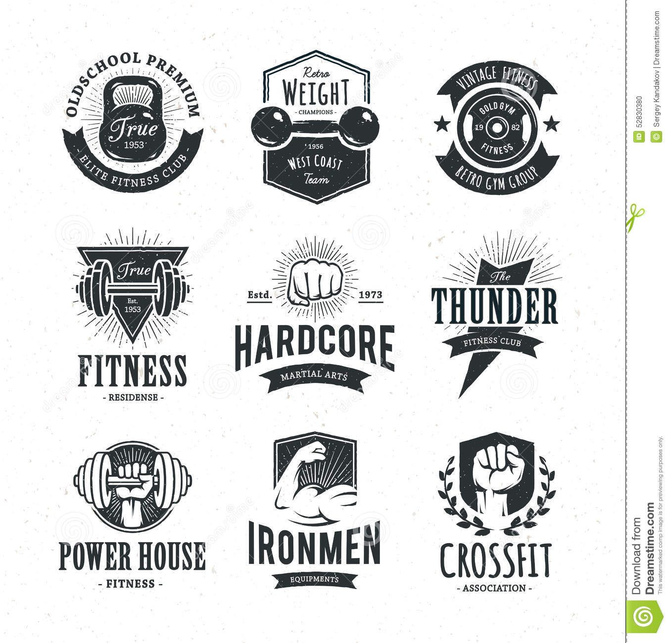 vintage boxing design Google Search Gym logo, Retro