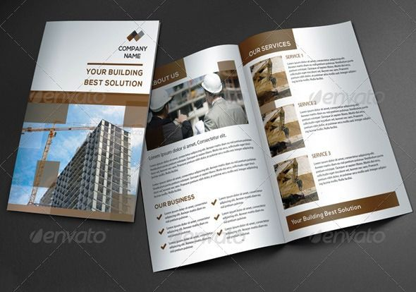 Seputar Company Profile Kontraktor Company profile perusahaan - company profile free template