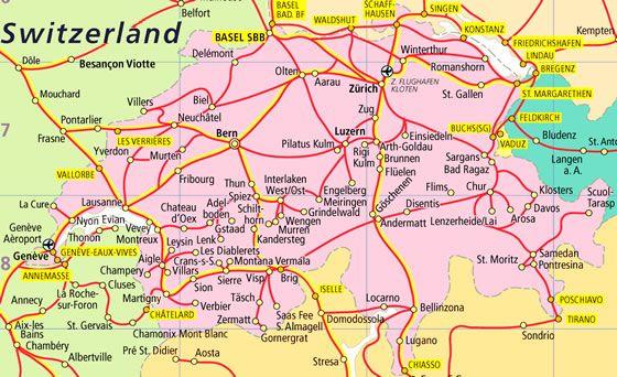 Switzerland Train Map swiss rail map   Google Search | Honeymoon | Swiss travel pass