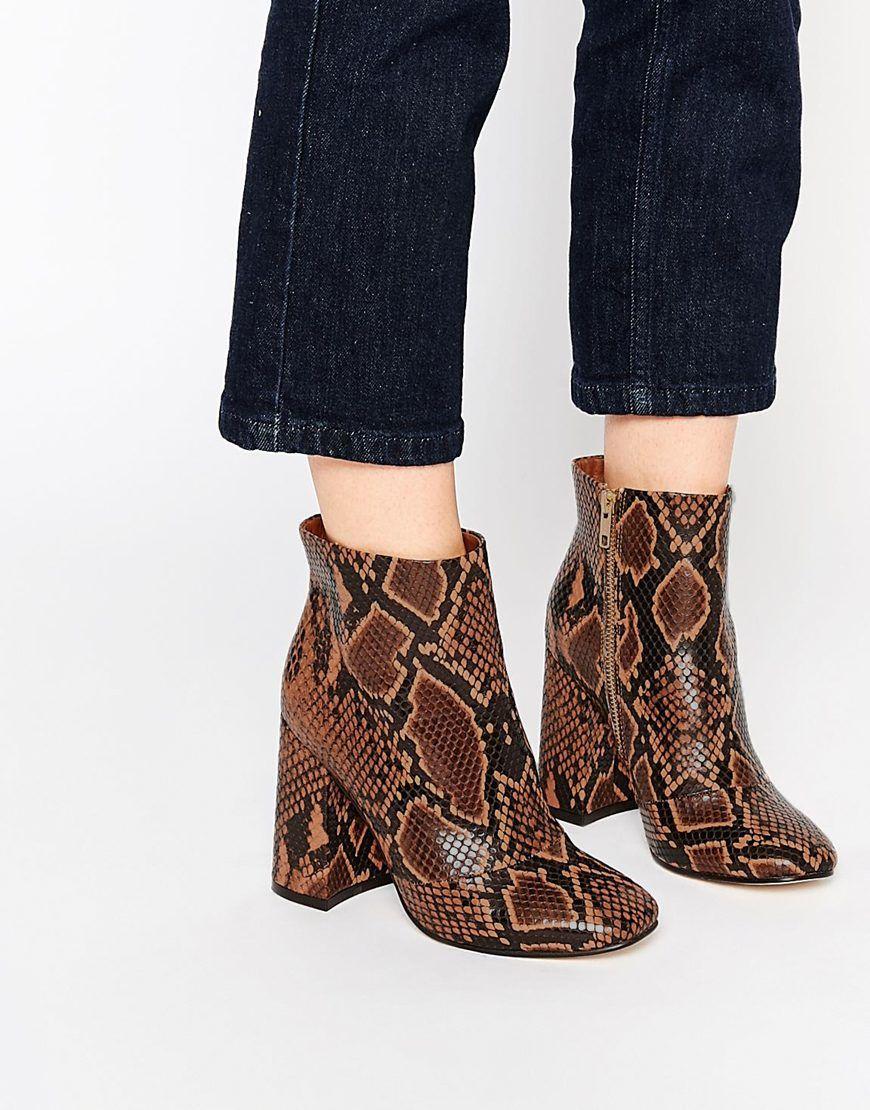 Image 1 of ASOS EDWINA Ankle Boots