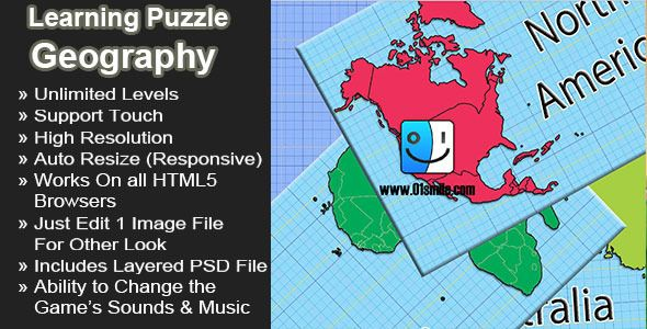Geography learning puzzle world map continents ecommerce logo about the game geography learning puzzle world map continents is a simple and editable educational game gumiabroncs Gallery