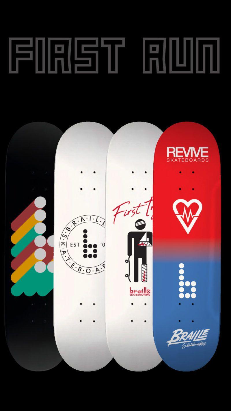 Pre Order Collector S Edition 1st Run Braille Skateboards Braille Skateboarding In 2020 Skateboards Skateboard Braille