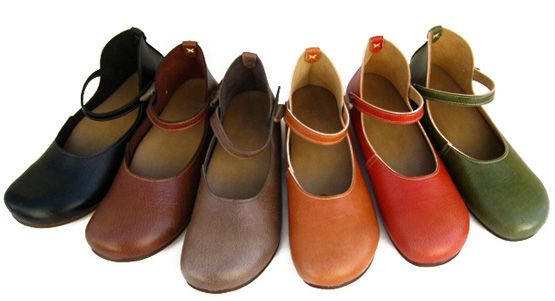 Belle and Sofa, made in Japan, the Natural Strap Shoe.