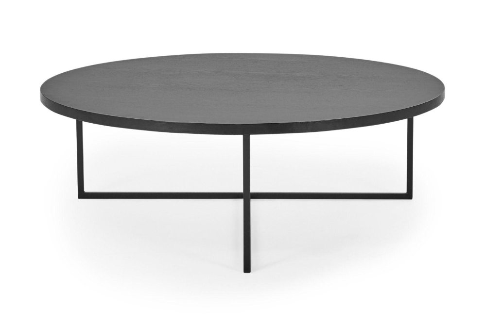 Turner Black Round Coffee Table Lounge Lovers In 2020 Round