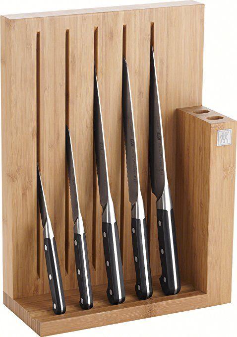 Zwilling Pro Messerblock Bambus 6 Tlg 125 X 275 X 380 Mm