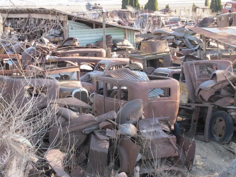 pictures of junk yrds | Cool old junk yard out in Washington State ...