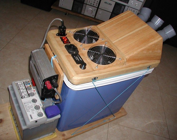 Homemade Solar Powered Air Conditioner Solar Powered Air