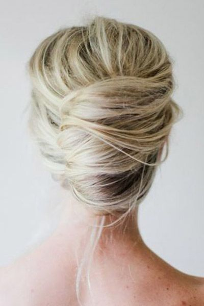 Wedding hair ideas you can do yourself wedding hair updo updo and inspiration a modern lower french twist solutioingenieria Image collections