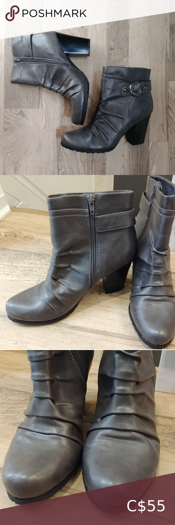 New Jessica Simpson New Faux Leather Booties