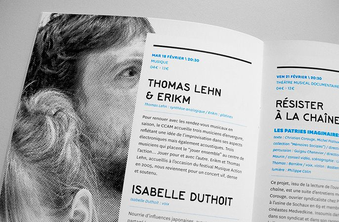 Studio Punkat Ccam Scene Nationale De Vandoeuvre Saison 2013 2014 Design Graphique Editorial Design Brochure