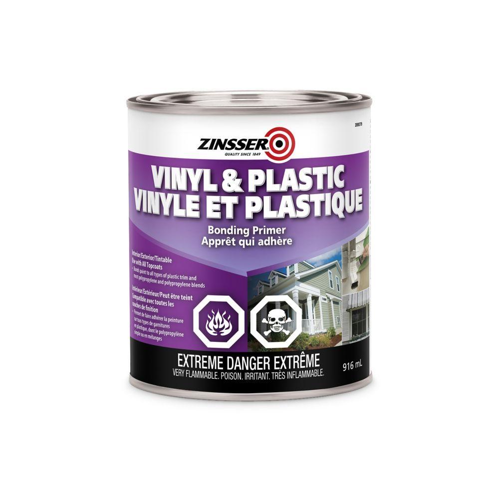 Zinsser Plastic & Vinyl 946ml Painting plastic, Adhesive