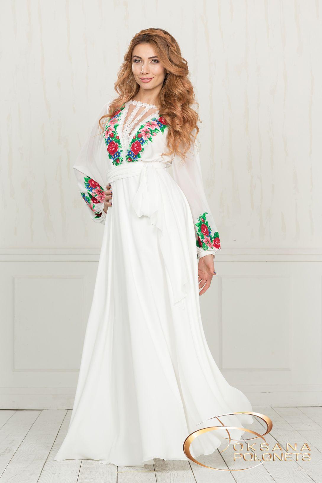 Пін від користувача Zoryana Roman на Dress in Ukrainian style - плаття  (сукні) в українському стилі  45ff9228c97b2