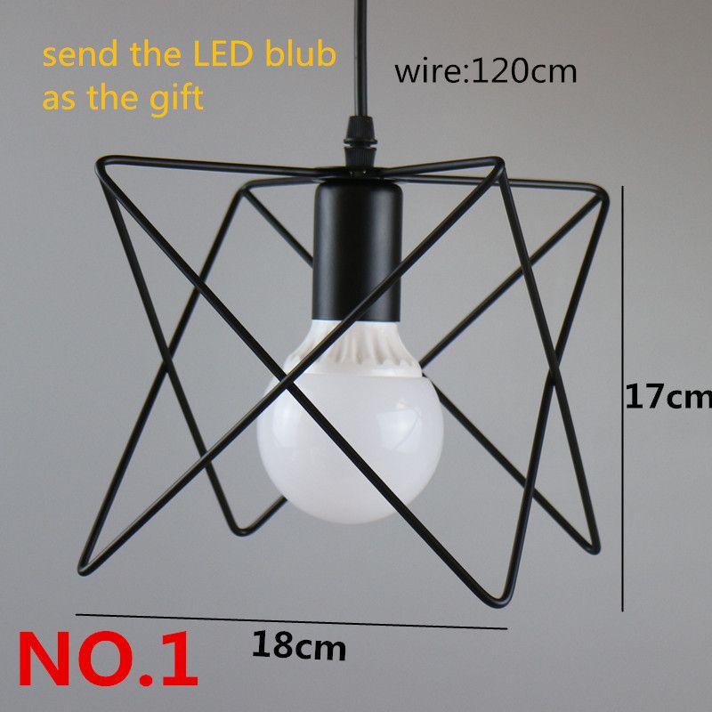 Retro Indoor Lighting Vintage Pendant Light Led Lights 24