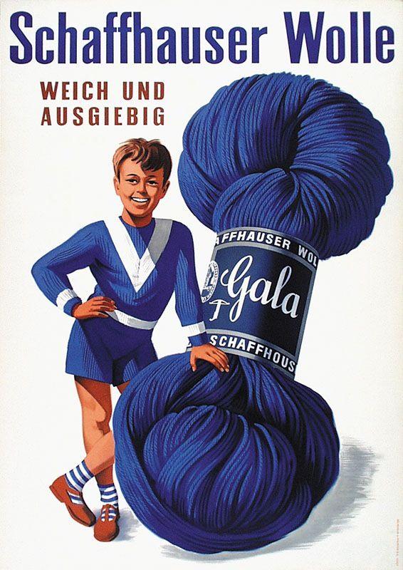 Schaffhauser Wolle - 1955 -