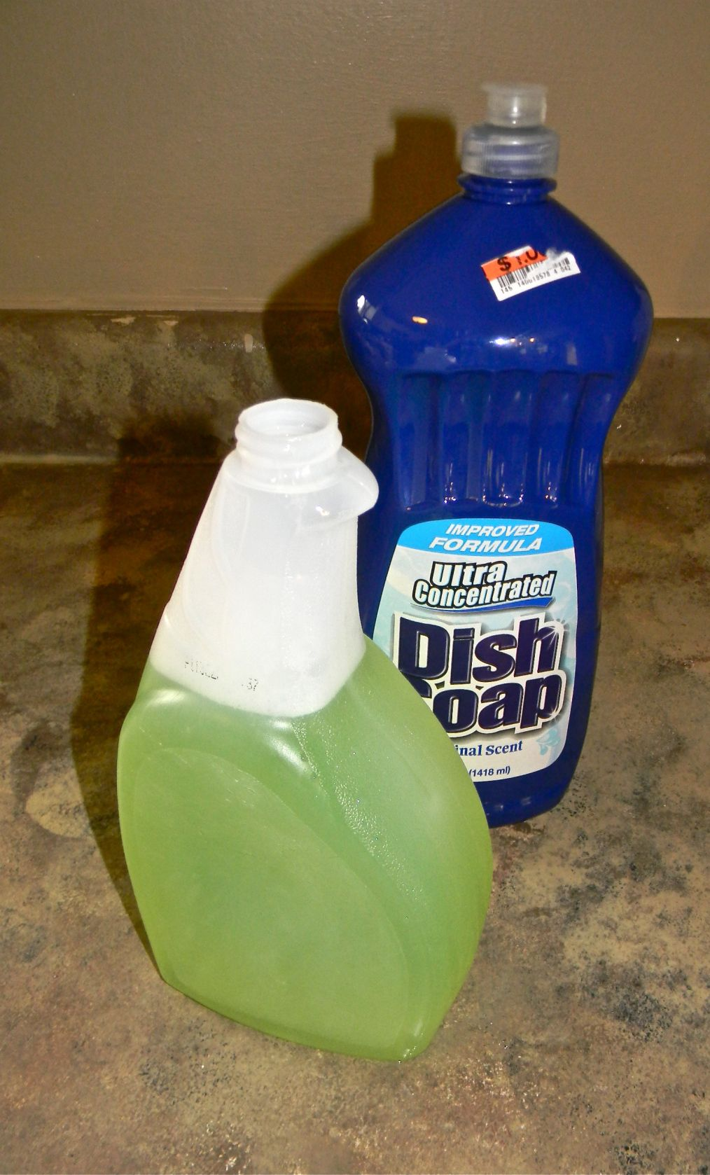 Dull to shiny hard water stain remover homemade