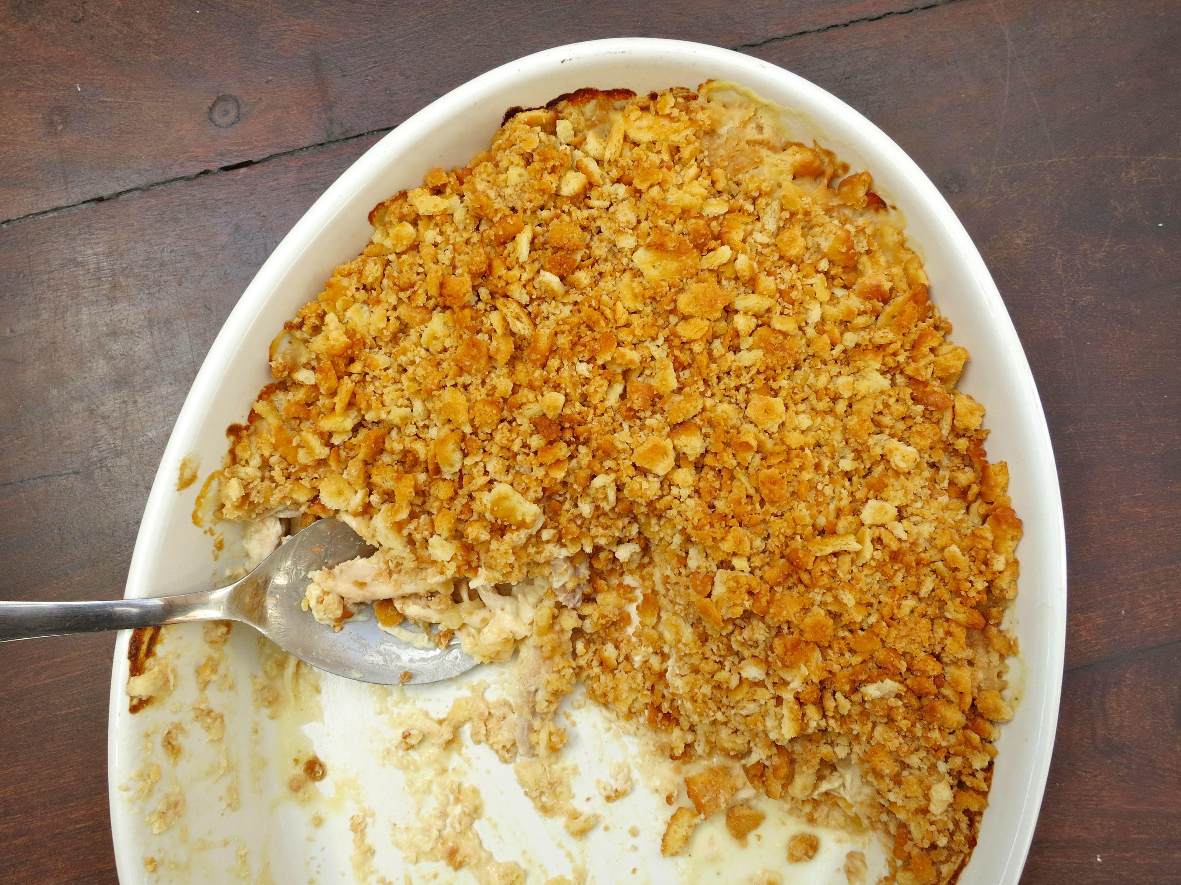Chicken Casserole W Sour Cream Amp Crushed Ritz Cracker