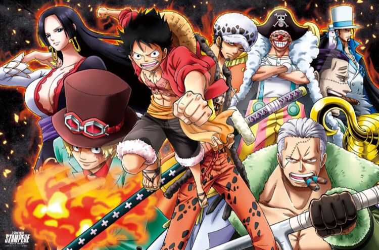 one piece stampede ワンピース 絵 ワンピース マンガ アニメ