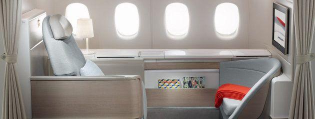 Air France Airbus A380 800 La Premiere First Class Flights Best
