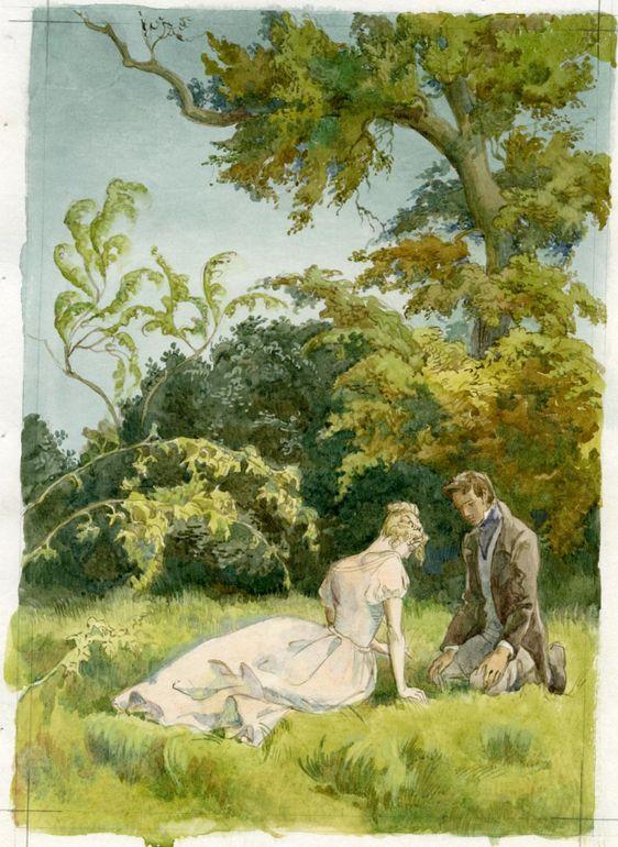 иллюстрации к тургеневу свидание нас можно