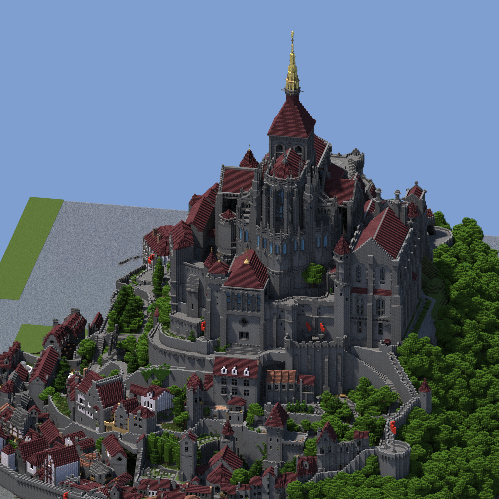 Minecraft castle minecraft castle fortress minecraft for Fortress build
