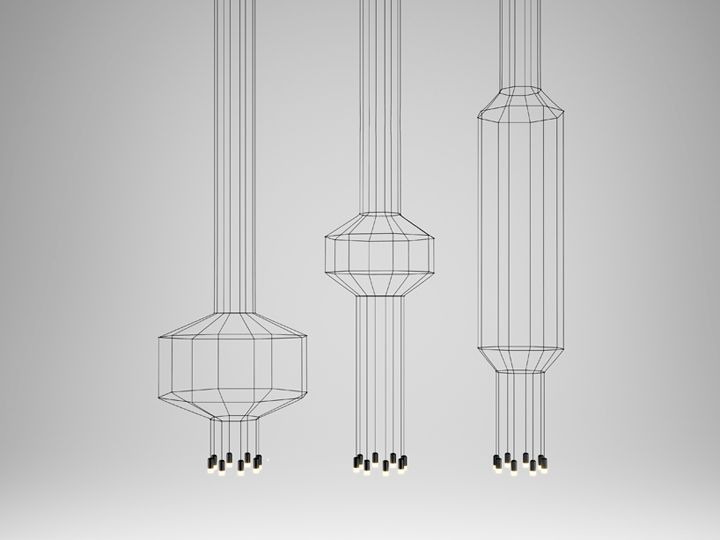 Wireflow lighting fixtures by Arik Levy for VIBIA 02
