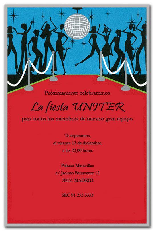 Tarjetas De Invitacion A Fiesta De Promocion Buscar Con