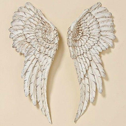 elegant dcoration murale ailes d ange stck ancien blanc xcm ange pour ebay with maison du monde ange. Black Bedroom Furniture Sets. Home Design Ideas