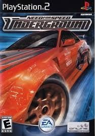 Need For Speed Underground Ps2 Game Need For Speed Games Speed Games Need For Speed