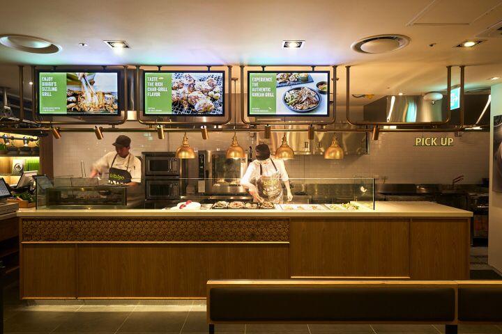 bibigo korea quick service restaurant by cj foodville seoul south korea modern restaurant on kitchen interior korean id=41257