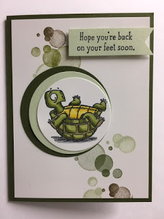 Back on Your Feet, Beauty Abounds, Get Well Card, 2019-2020 Stampin' Up! Catalog