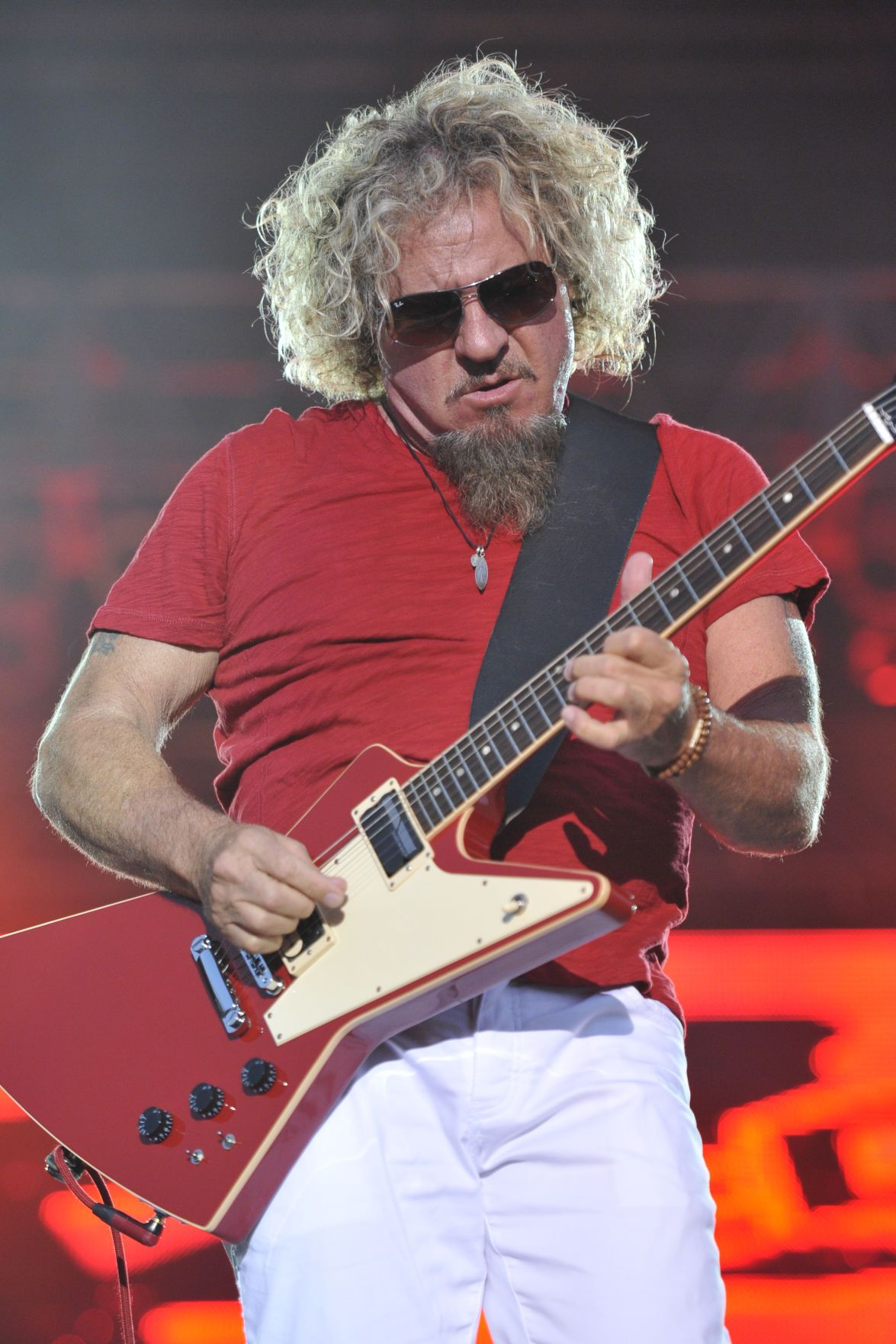 Concert Review Sammy Hagar Keeps On Rocking With Images Sammy Hagar Concert 8x10 Photo