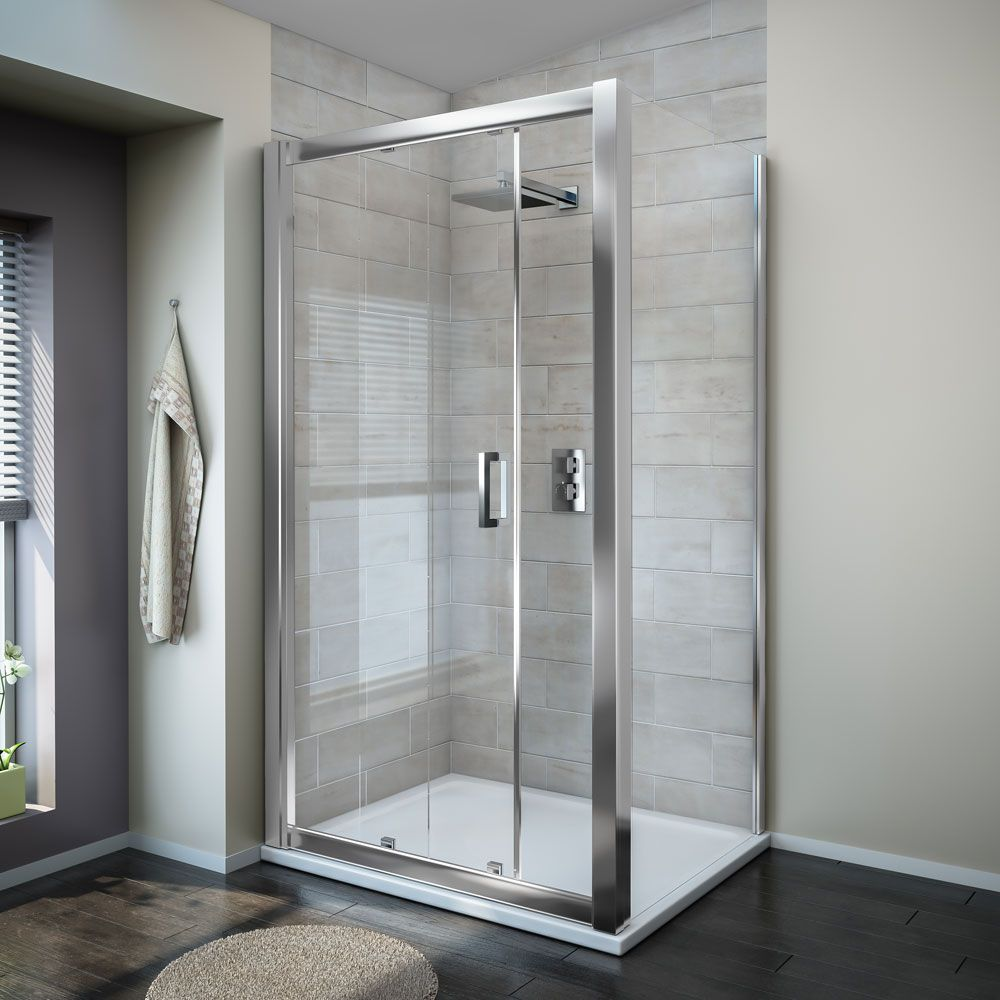 Turin 8mm Rectangular Sliding Door Shower Enclosure - Easy Fit ...