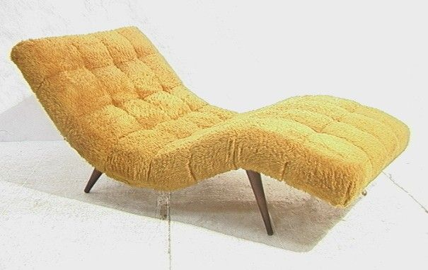 Chair Wave Chaise Lounge LoungeTapHome Modern 35370's Decor SpLGjUzqMV
