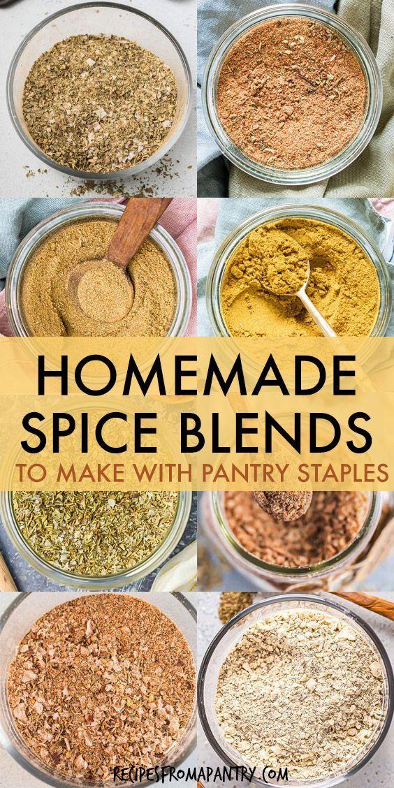 Easy Homemade Spice Blend - Seasonings