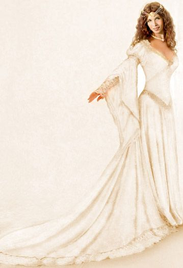 Medieval And Celtic Wedding Gowns Custom Storybook Wedding Gowns